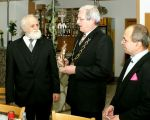 SVK, RTV Zilina - Statue Golden Europea is the new award from EUA, 2010