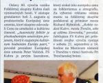 SVK, Info Trencin - Awards of the European Union oof Arts is already in the village Kubra, 2013