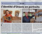 CHE, La Région Nord vaudois - Faces of Orzens on wooden portraits, 2013